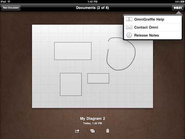 Hands on with OmniGraffle for iPad on