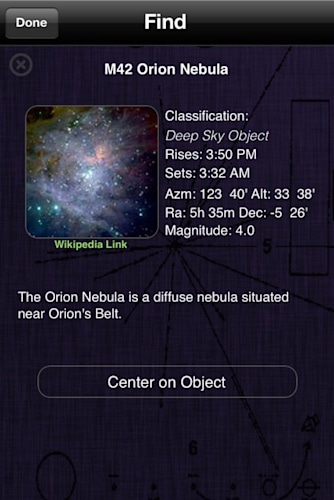 Daily iPhone App: Pocket Universe
