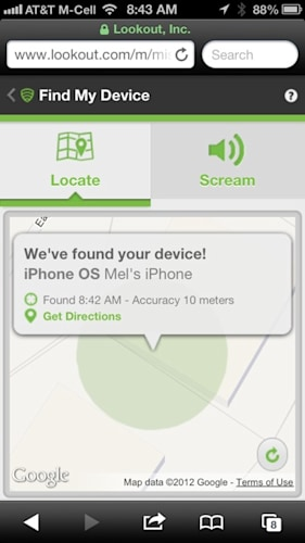 iOS Signal Flare is Find My iPhone with more features