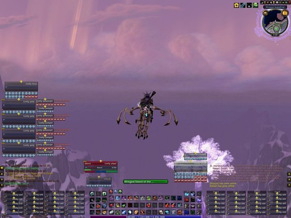 My Mists of Pandaria beta UI is almost perfect