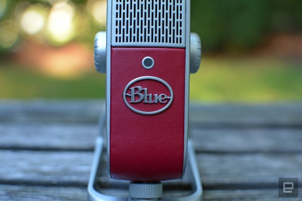 Blue's Raspberry mic is small, but delivers stellar audio
