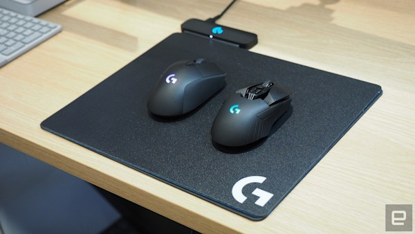 Logitech's PowerPlay delivers no-compromise wireless gaming mice