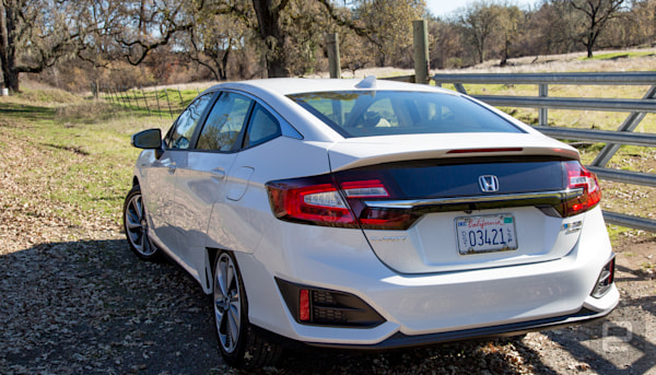 Honda's Clarity Plug-In Hybrid is a luxury car at a bargain