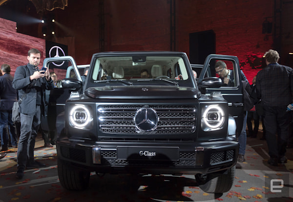 Mercedes CEO: 'Stay tuned' for an electric G-Wagen SUV