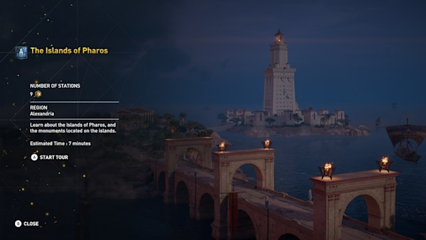 Assassin's Creed Origins' virtual tours can actually teach