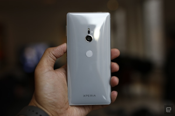 The Xperia XZ2 is Sony's fastest, strangest flagship phone yet