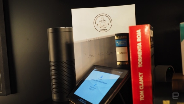 Amazon made an escape room powered by Alexa