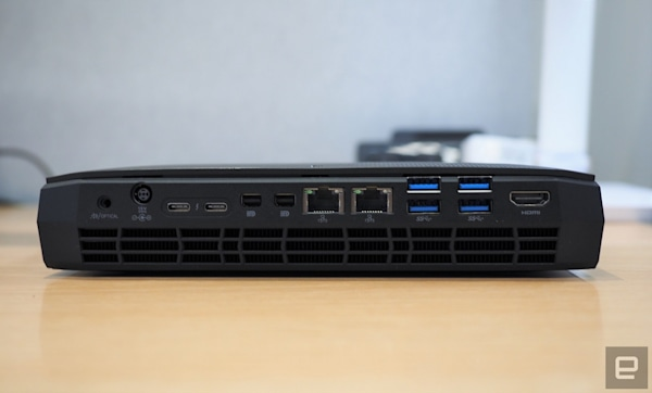 Intel's Hades Canyon NUC is a tiny gaming powerhouse