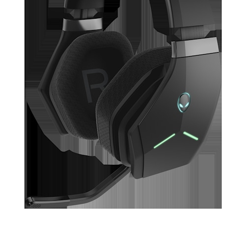 Alienware's Wireless Headset trades style for 7 1 surround sound