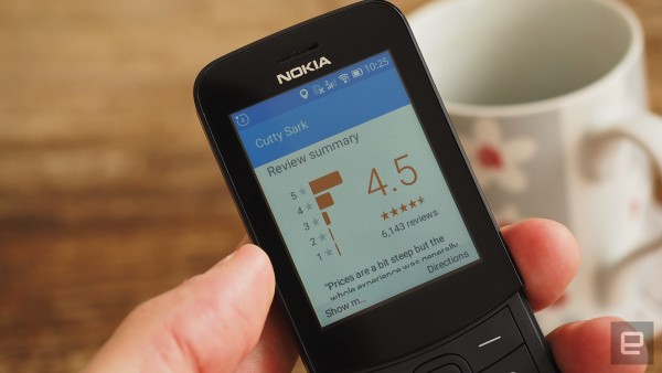 The Nokia 8110 4G is smarter than your average dumb phone
