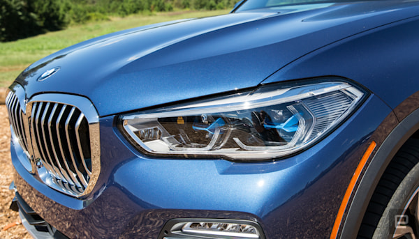 BMW throws all its new tech at the X5