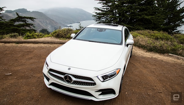 The Mercedes CLS 450 is a luxury mild hybrid for hipsters