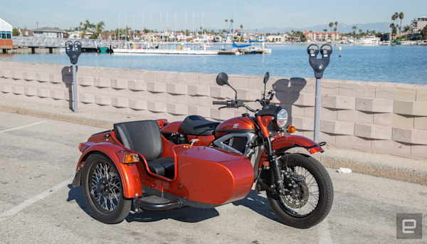 Ural's electric motorcycle with a sidecar is weird but fun