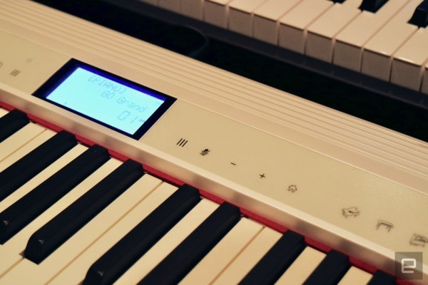 A Roland keyboard has Alexa built-in for voice control while