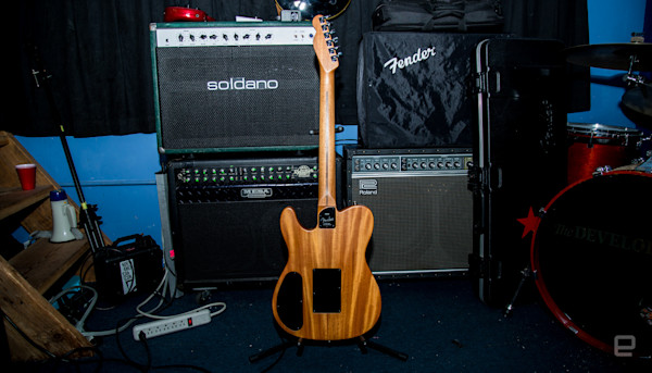 Fender's acoustic-electric hybrid is a technological wonder