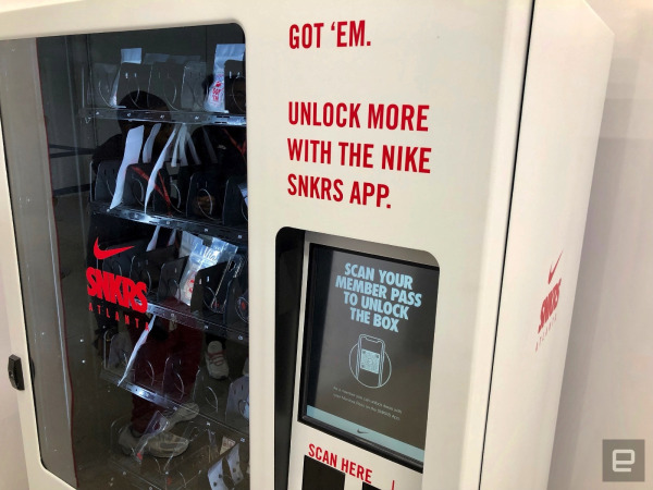 Nike turns its SNKRS app into a pop-up shop for sneakerheads