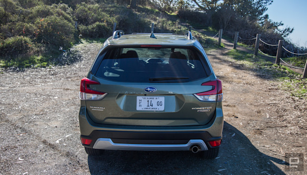 Subaru's Forester combines driver monitoring tech with