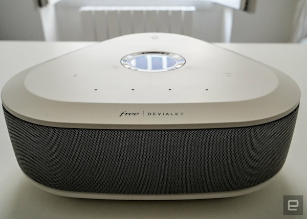 Why can't all set-top boxes be as stylish as the Freebox Delta?