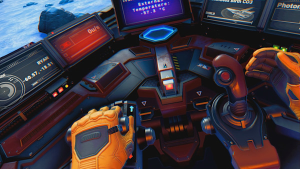 No Man's Sky VR' puts the universe on your headset for free