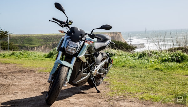 Zero's SR/F electric motorcycle is quicker and now more
