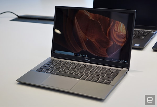 Dell's Latitude laptops are finally getting more stylish