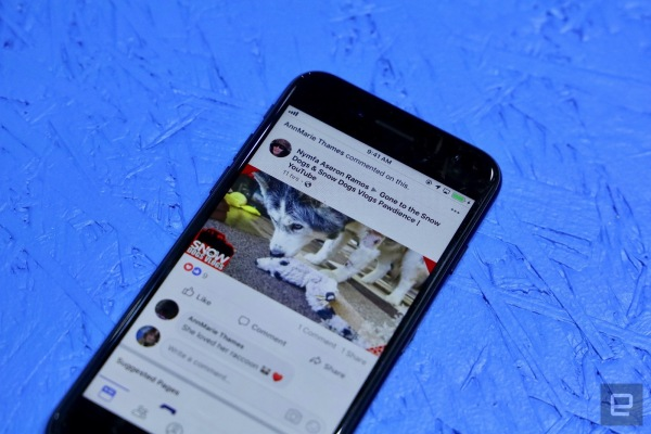 A closer look at the redesigned Facebook app