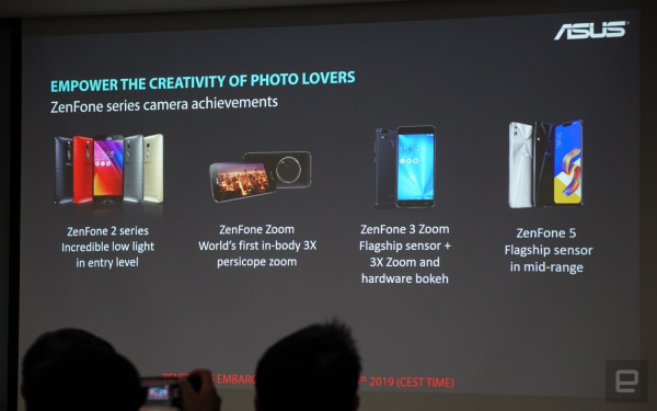 ASUS' ZenFone 6 has a flippable camera and giant battery