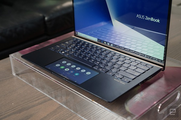 ASUS' redesigned touchscreen trackpad is bigger and more