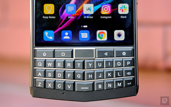 My frustrating time with a charming, rugged BlackBerry clone