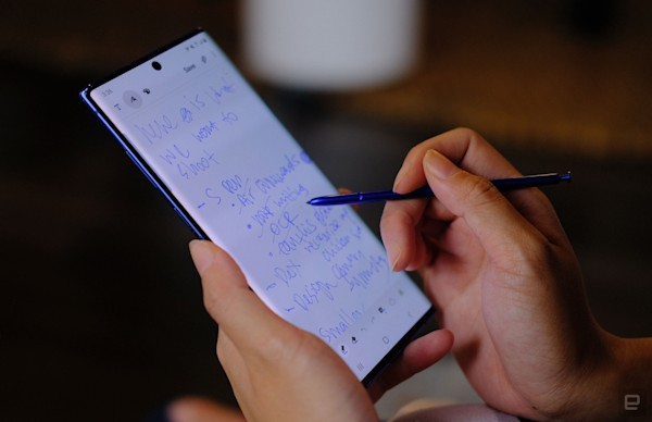 Samsung's Galaxy Note 10 is a tiny bit smaller and costs less than