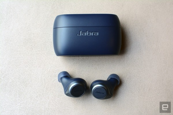 Jabra Debuts A Sporty Version Of Its Elite 75t True Wireless Earbuds Engadget
