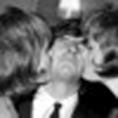Beatle Ringo Starr with fans Dorothy Howe (left) and Judith Howe at Kingsford Smith Airport