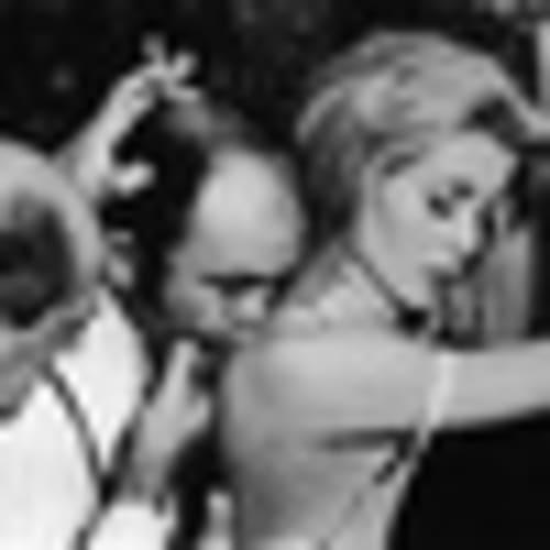 Director Luis Bunel and actress Catherine Deneuve