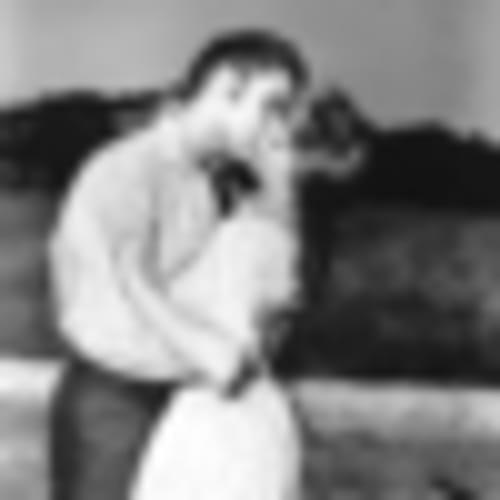 Elvis Presley kissing Debra Paget - Michael Ochs Archives