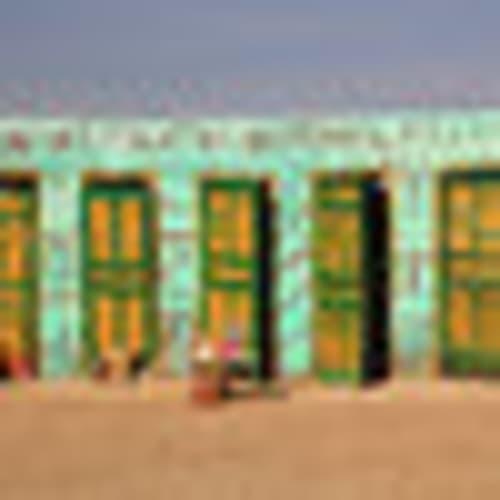'Comfort toilets', Chott el Djerid, Tunisia