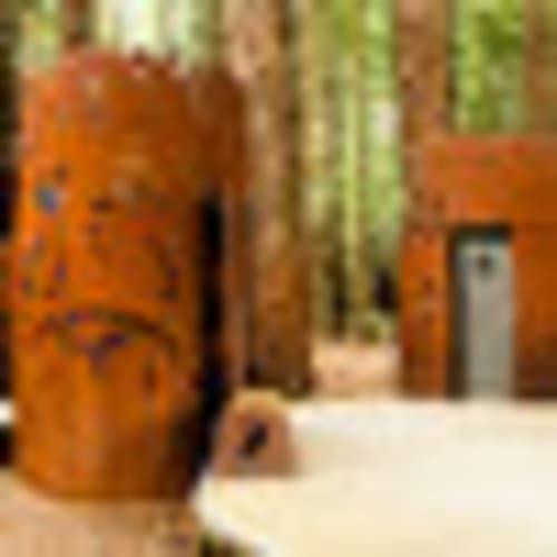 Red Woods Toilets, Rotorua, New Zealand