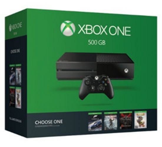 Xbox One 500GB Console & More