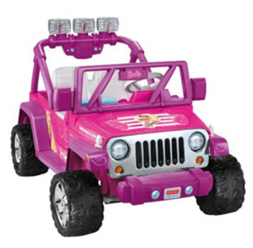 Power Wheels Barbie Deluxe Jeep Wrangler & More