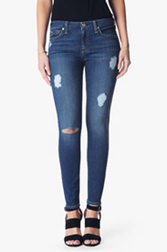 b(air) Denim Ankle Skinny in Destroy with Reign