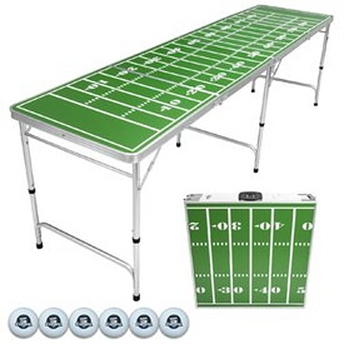 GoPong 8-Foot Portable Beer Pong / Tailgate Table