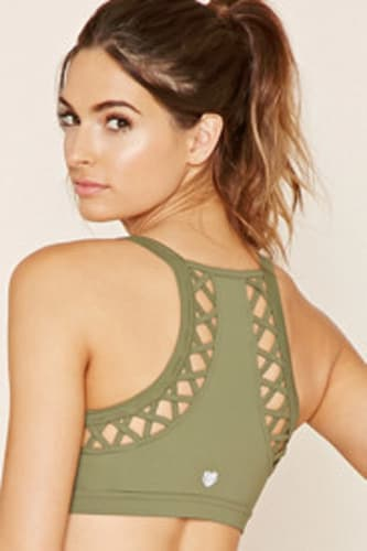 High Impact - Cutout Sports Bra