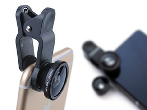 Universal 3-in-1 Lens Kit for Smartphones & Tablets