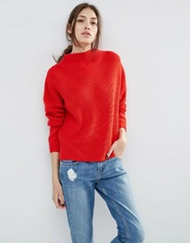 ASOS Ultimate Chunky Sweater with High Neck