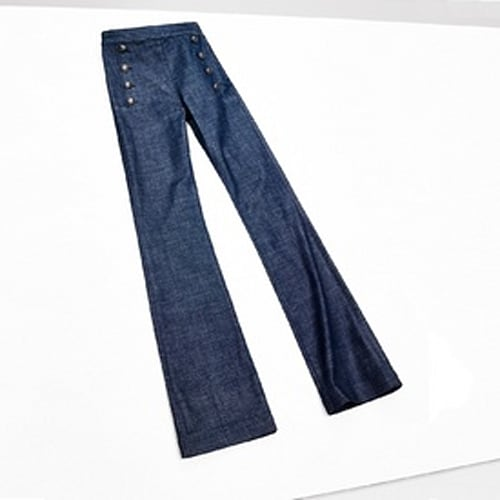 DENIM SAILOR PANT GIGI HADID