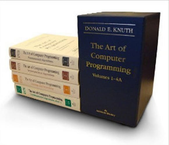 The Art of Computer Programming, Volumes 1-4A