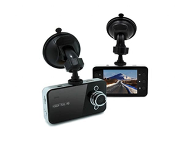 DashCam Hi-Res Car Video Camera & 8GB MicroSD Card