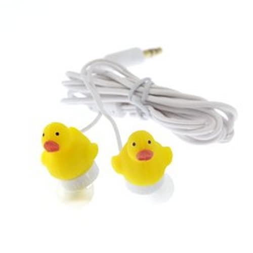 Duck Earbuds for Mobile Devices