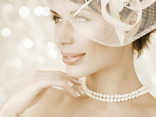 Tara Island Collection White Double Strand Pearl Necklace