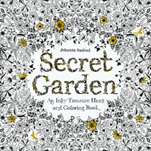 """""""Secret Garden: An Inky Treasure Hunt and Coloring Book"""" by Johanna Basford"""