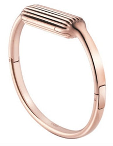 FITBIT Flex 2 Rose Goldtone Bangle